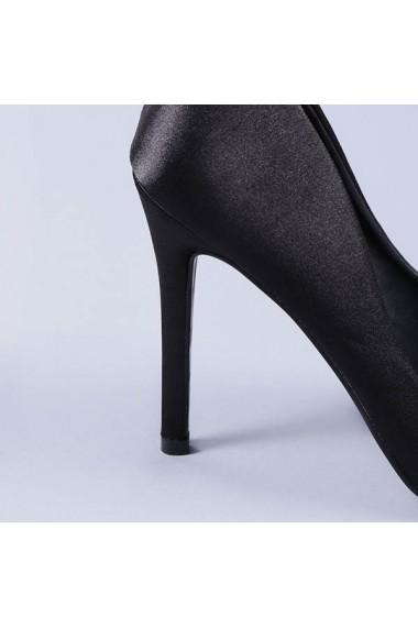 Pantofi stiletto Cate negri
