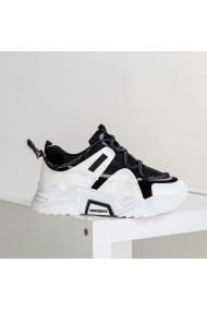 Pantofi sport dama Vain negru cu alb