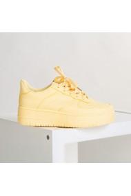 Pantofi sport dama Love galbeni