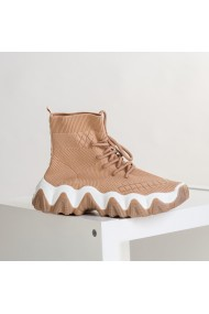 Pantofi sport dama Elinda khaki