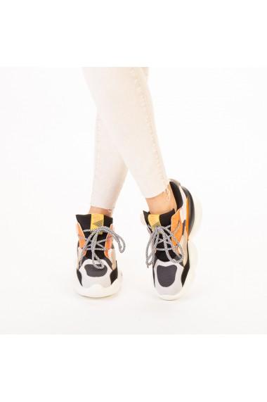 Pantofi sport dama Live gri multicolor