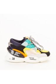 Pantofi sport dama Live bleu multicolor