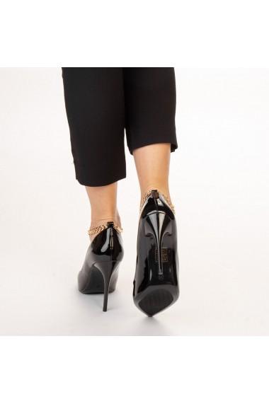 Pantofi dama Delir negri
