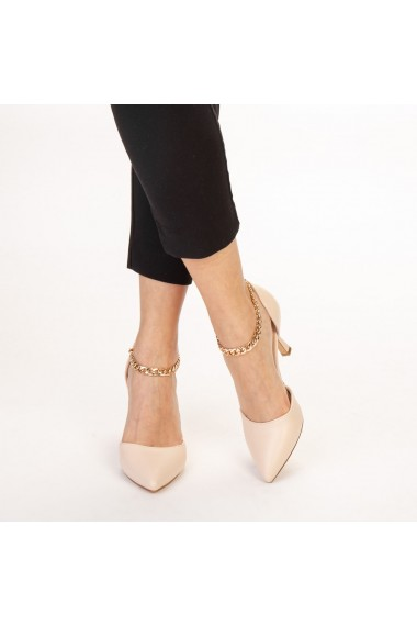 Pantofi dama Sofie nude