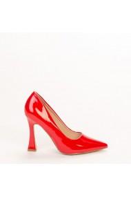 Pantofi dama Wanda rosii