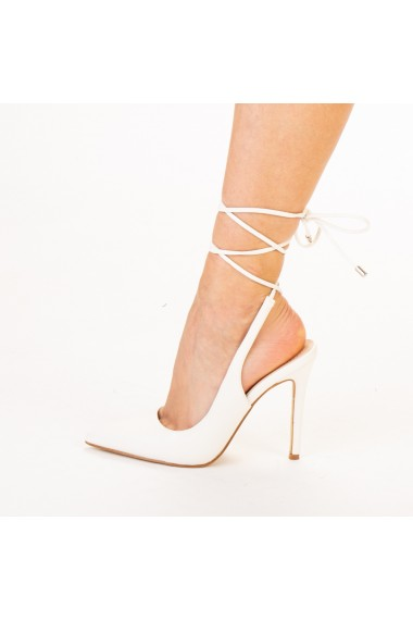 Pantofi dama Neiva albe
