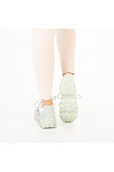 Pantofi sport dama Liberta verzi
