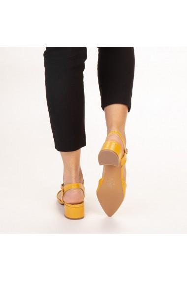 Pantofi dama Leela galbeni