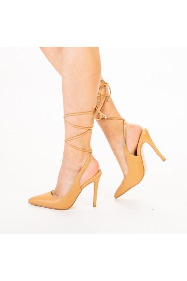 Pantofi dama Neiva bej