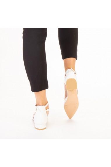 Pantofi dama Safa albi