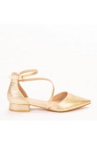 Pantofi dama Safa aurii