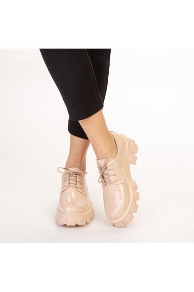 Pantofi casual dama Avona bej