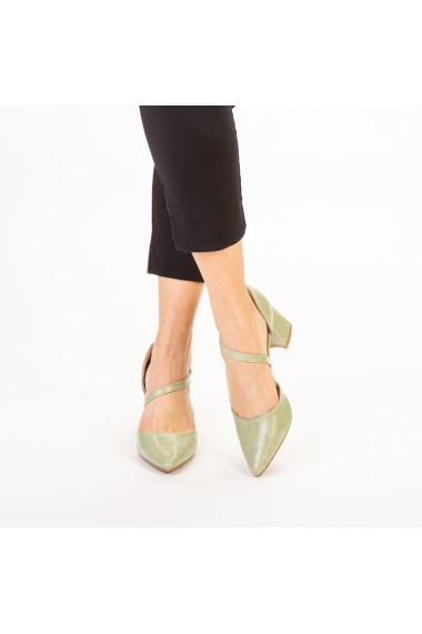 Pantofi dama Dayna verzi