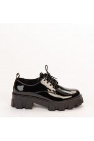 Pantofi casual dama Avona negri
