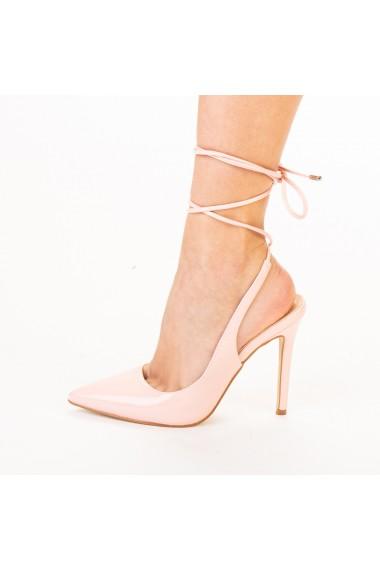 Pantofi dama Davina roz