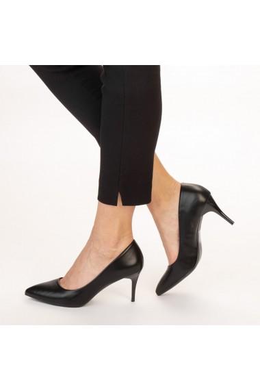 Pantofi dama Delora negri