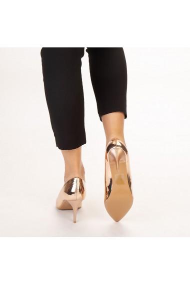 Pantofi dama Avice champagne