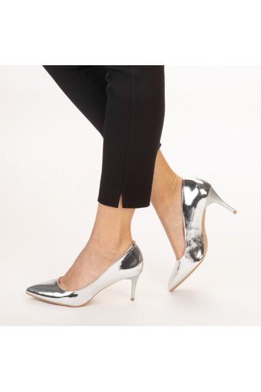 Pantofi dama Avice argintii