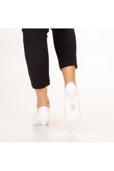 Pantofi dama Avice albi