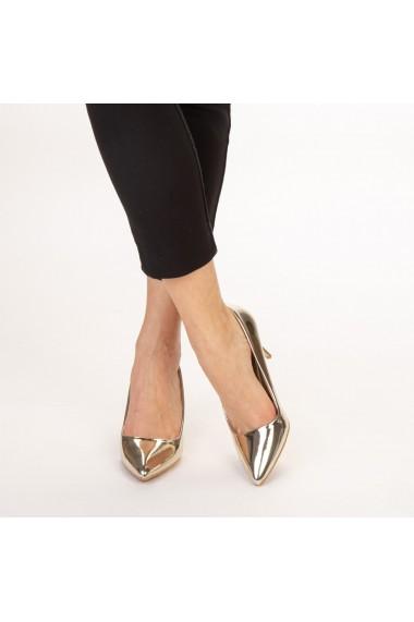 Pantofi dama Avice aurii