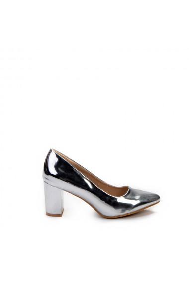 Pantofi dama Ebony argintii