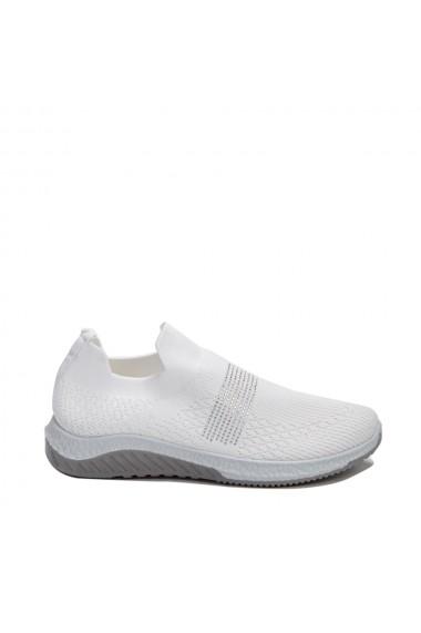 Pantofi sport dama Nisha albi