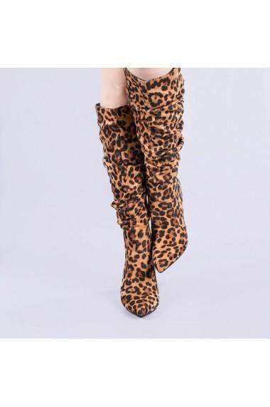 Cizme dama Natalia leopard