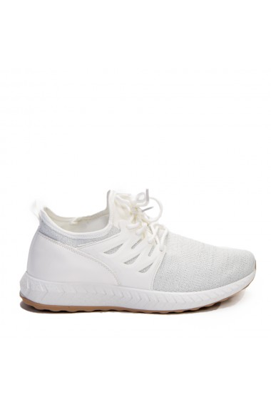 Pantofi sport dama Rikki albi