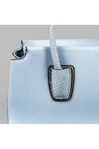 Geanta dama Carpisa Bleu piele ecologica