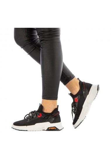 Pantofi sport dama Oriana negri