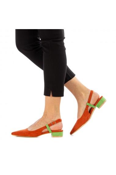 Sandale dama Airah portocalii
