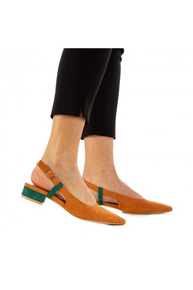 Sandale dama Airah camel