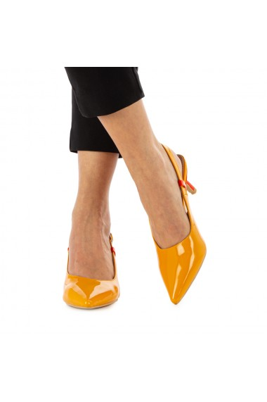Sandale dama Nafee galbene