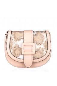 Geanta dama Glam Roz piele ecologica