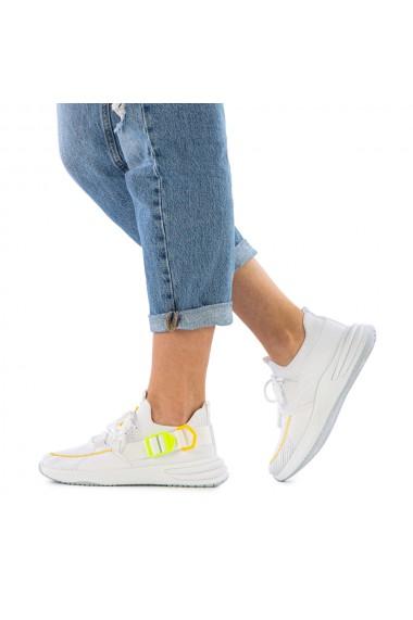 Pantofi sport dama Jordy albi