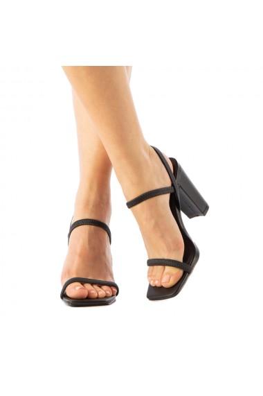Sandale dama Garin negre