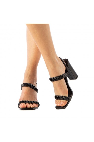 Sandale dama Paval negre