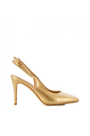 Sandale dama Vaness aurii