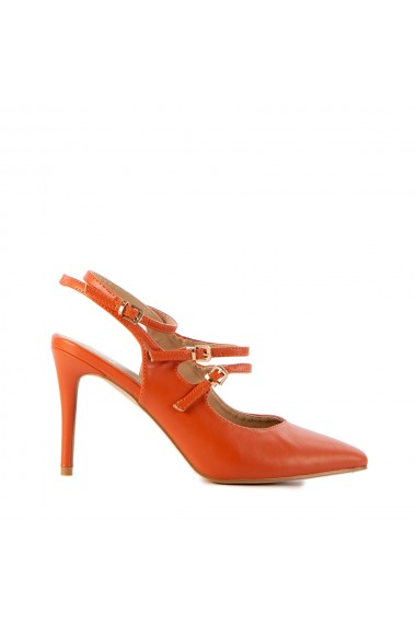 Sandale dama Esma portocalii
