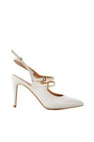 Sandale dama Esma albe