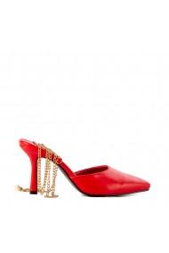 Sandale dama Chain rosii