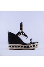 Sandale dama Devon negre