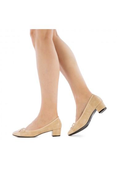 Pantofi dama Abba bej