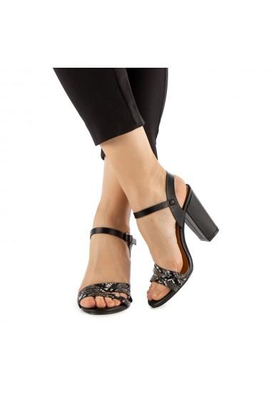 Sandale dama Hessy negre