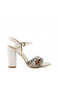 Sandale dama Hessy albe