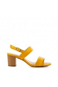 Sandale dama Franz galbene