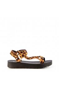 Sandale dama Camille leopard