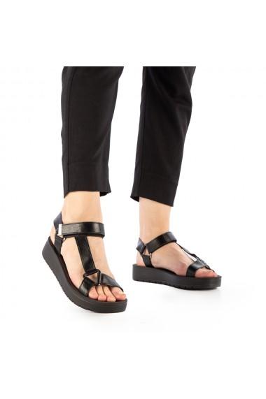 Sandale dama Camille negre