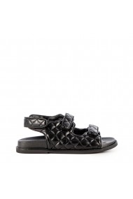 Sandale dama Alfa negre