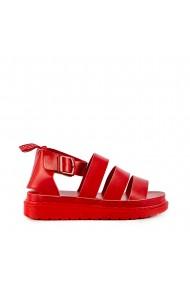 Sandale dama Mylia rosii